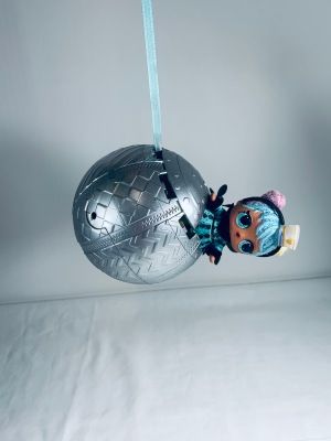 L.O.L Surprise Ball Ornament with L.O.L Doll