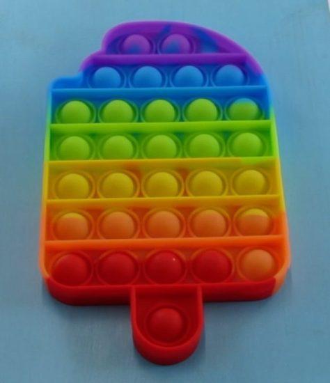 Rainbow popsicle Pop It
