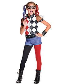 Harley Quinn Girl Costume