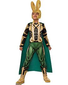 Loki Kids Costume