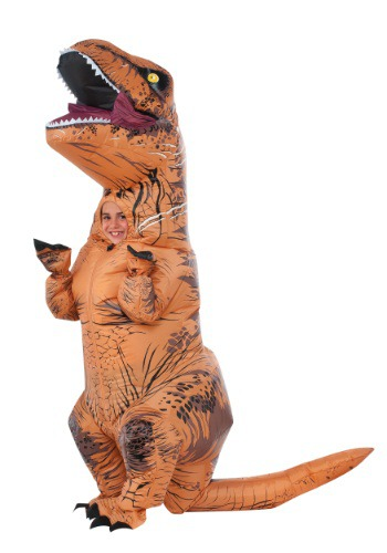Kids Inflatable T-Rex Costume