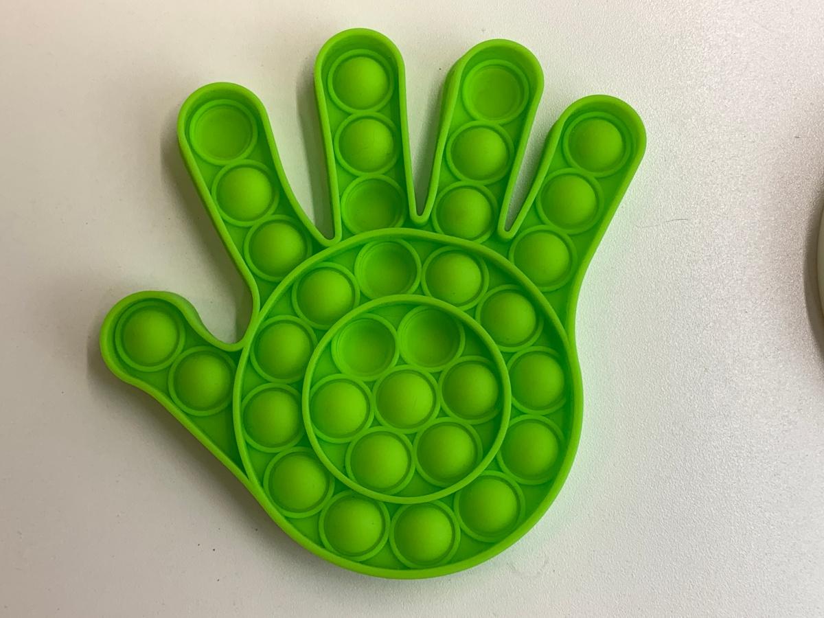 Green Hand Pop It!